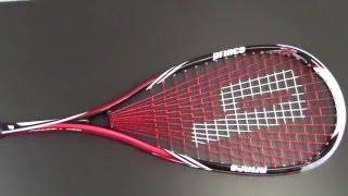 PRINCE Pro Airstick Lite 550 squash racket review