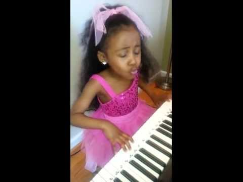 "Bruno Mars ""When I Was Your Man"" Cover by 5 year old Chandler King"