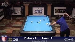 2015 USBTC 8-Ball: Jessica Frideres vs Liz Lovely (Women