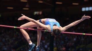 Mariya LASITSKENE KUCHINA 2.03 WL PB.  High Jump Diamond League Eugene 2017