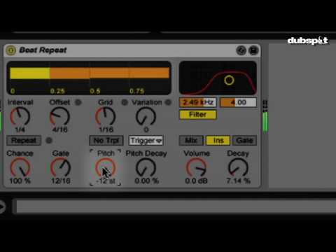 Ableton Live Tutorial: Beat Repeat - Dubspot's Thavius Beck