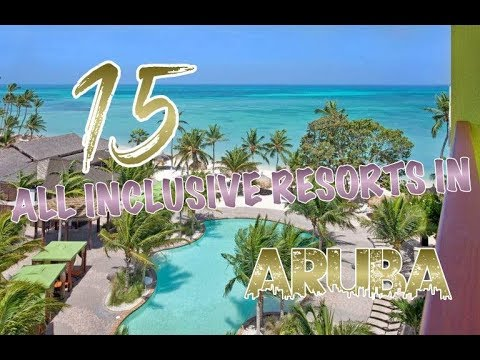 All inclusive flight and hotel packages to aruba