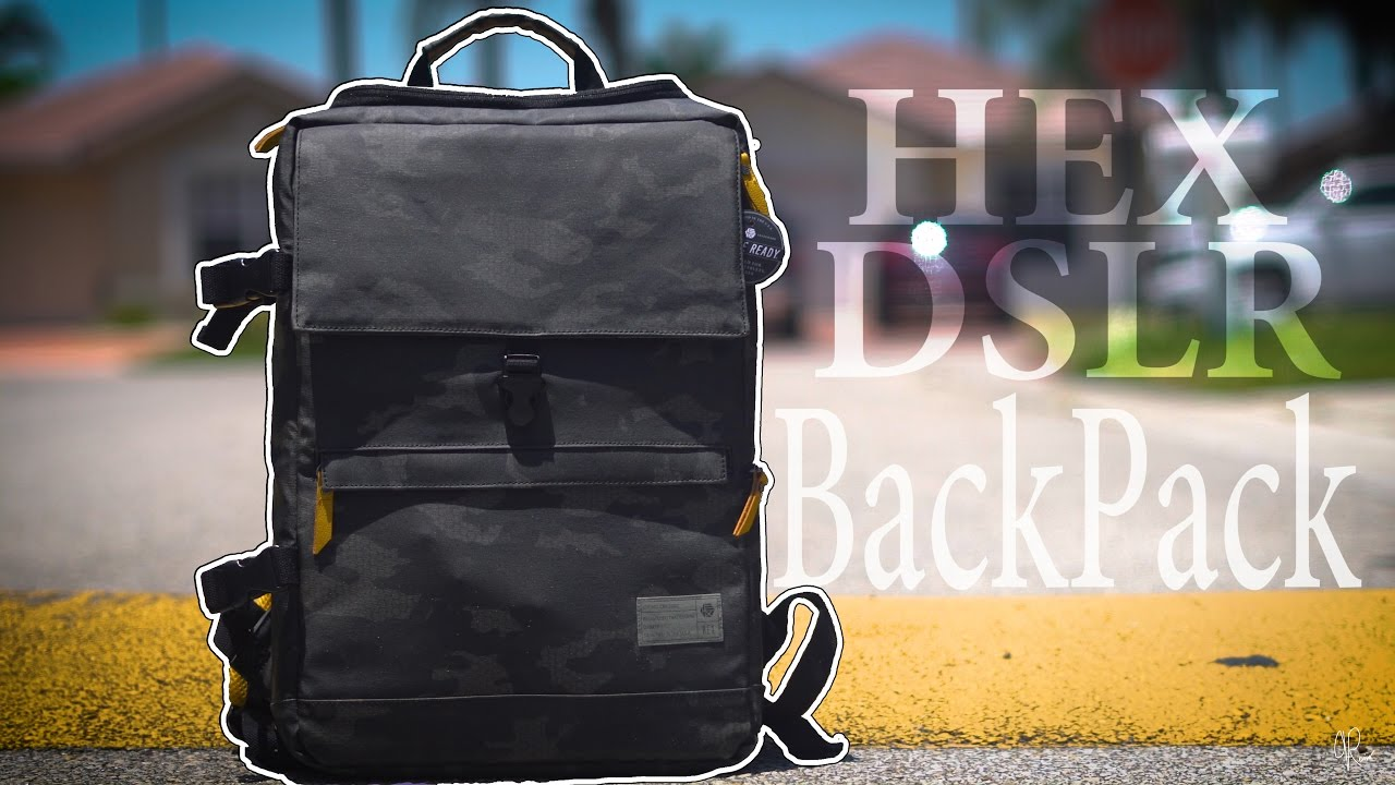 9d3ce24ca684 HEX Medium DSLR BackPack 🎒 - YouTube