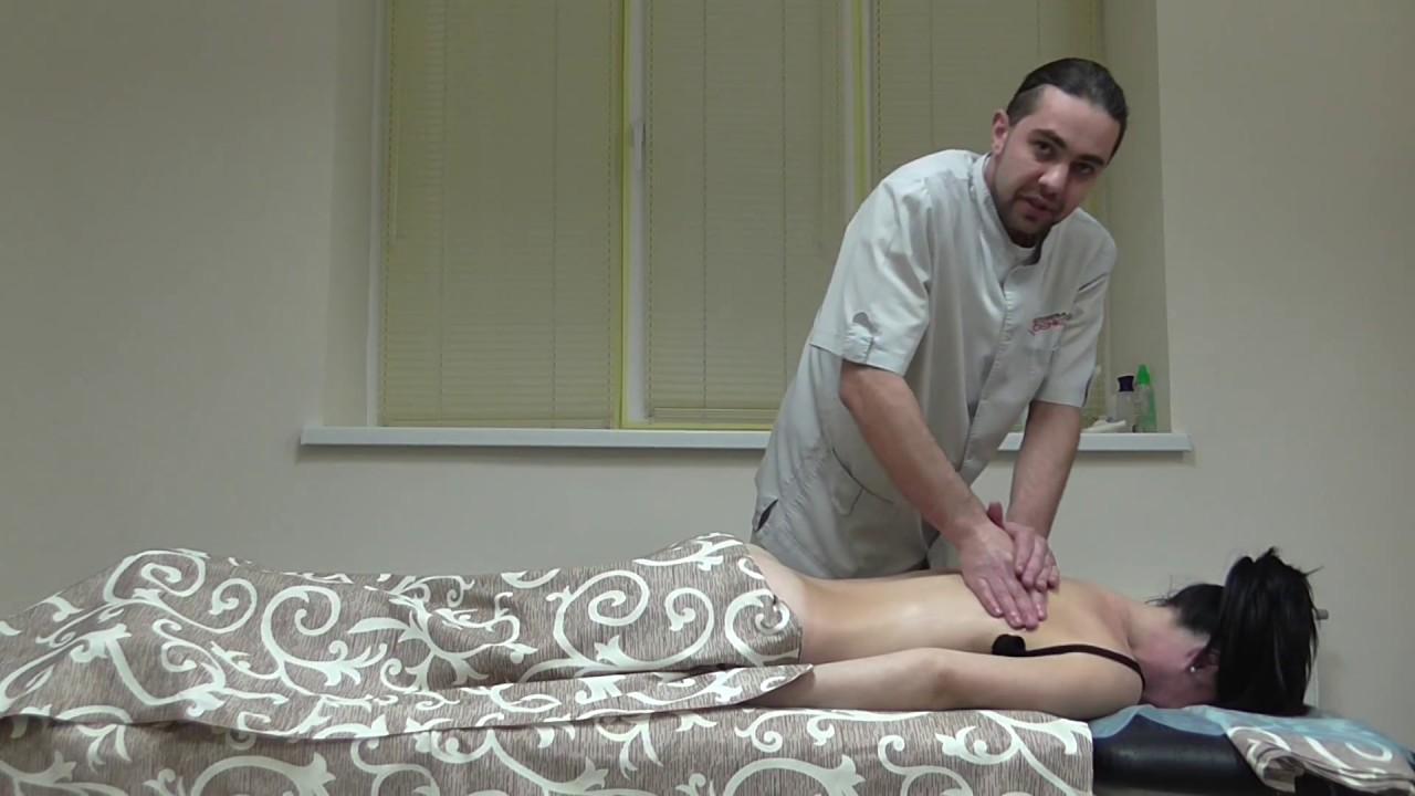 Лечебный массаж спины в Трускавце - лечение позвоночника в Клинике Саенко - 097 181 64 40