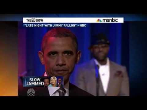 Fox News Did Not Like President Obama Doing Slow Jam On Jimmy Fallon