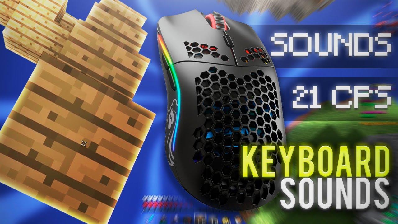 Mouse & Keyboard sounds | BUTTERFLYCLICK +24CPS | **4K 240FPS** [SKYWARS]
