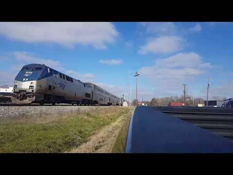 Amtrak 59 @ Flora, MS 1.13.2018
