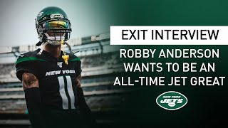 Robby Anderson Exit Interview: 2019 Was 'Really The Best Year Of My Life' | New York Jets