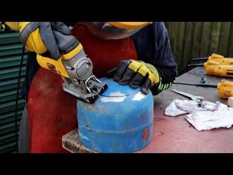 Ingenious DIY Wood Fired Wok Burner