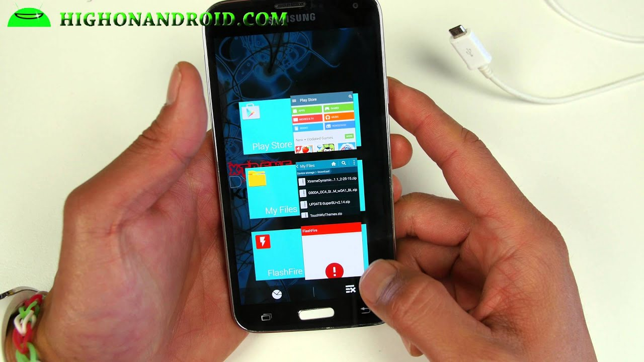 How-To: Installing Android Lollipop On The AT&T Galaxy S5