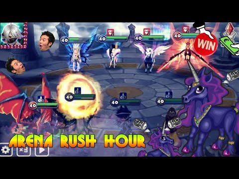 DARK UNICORN ON AD + NEW NAT FIVE?! | Arena Rush Hour + Giveaway ANNOUNCEMENT!