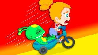 Groovy The Martian & Phoebe - Phoebe needs vegetable super power!