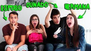 ¿QUIÉN ME CONOCE MÁS? ESPOSO VS HERMANA VS CUÑADO | Lyna Vlogs ft. Team Anormal