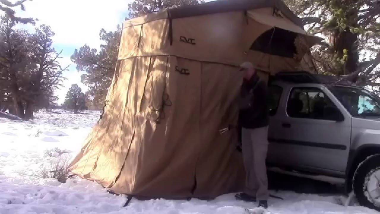 CVT Rooftop Tent Full Set Up - Cascadia Vehicle Tents Roof Top Tent with Annex - YouTube & CVT Rooftop Tent Full Set Up - Cascadia Vehicle Tents Roof Top ...