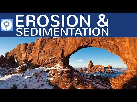Erosion & Sedimentation - Erosionsformen & Sedimente einfach erklärt ...