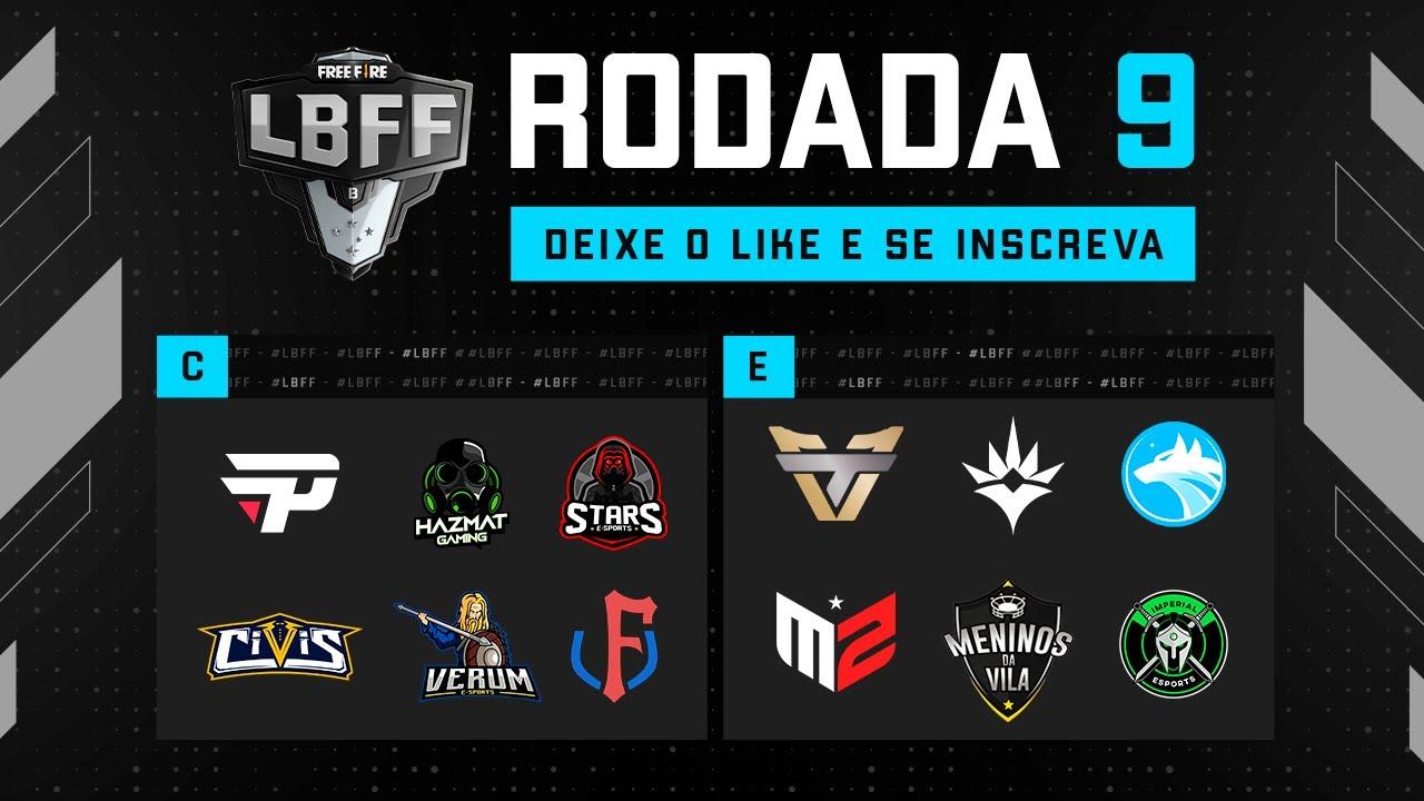 LBFF 6 Série B - Rodada 9 - Grupos C e E   Free Fire