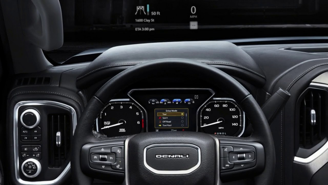 2019 GMC Sierra Denali Interior - YouTube