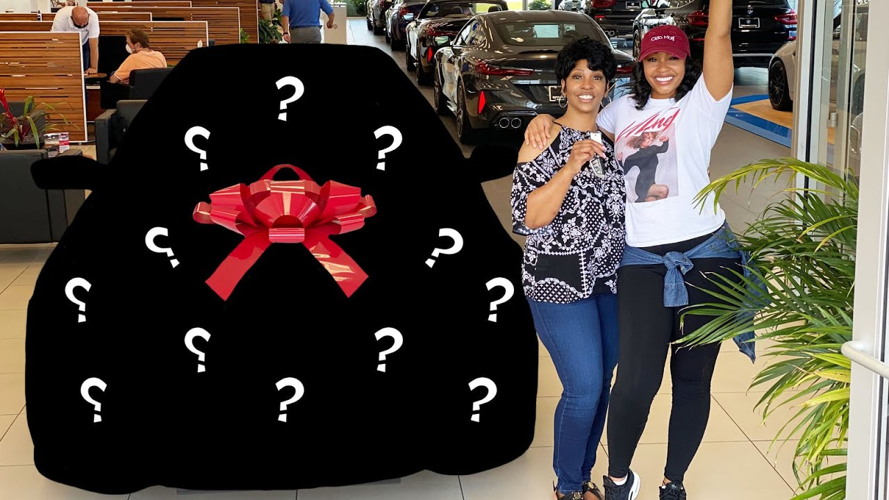 SHE BOUGHT HER MOM HER DREAM CAR! *EMOTIONAL*