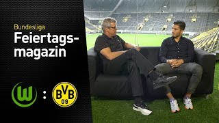 Das BVB total!-Feiertagsmagazin mit Nuri Sahin | VfL Wolfsburg - Borussia Dortmund