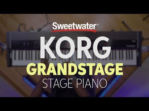 Korg Grandstage Stage Piano Demo by Sweetwater