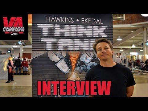 """Matt Hawkins Interview, """"Aphrodite IX"""" & """"Think Tank"""" Writer"""