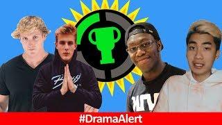 The Game Theorist VS RiceGum #DramaAlert Logan Paul CONFIRMS Jake Paul VS Deji, Will Smith, elRubius
