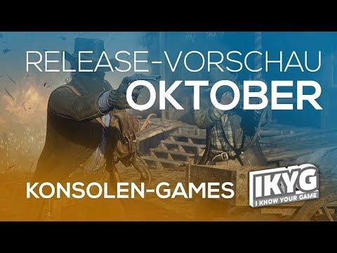 Games-Release-Vorschau - Oktober 2018 - Konsole