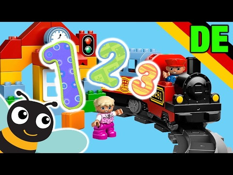Learning Numbers Train 1 to 10 in German Kindergarten Kids and Preschoolers