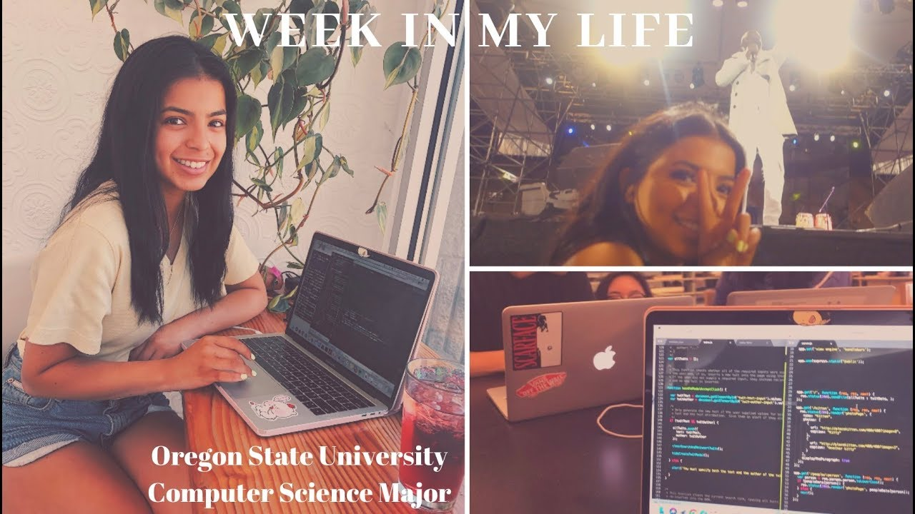 WEEK IN MY LIFE | Oregon State University | Computer Science Major | DAM JAM