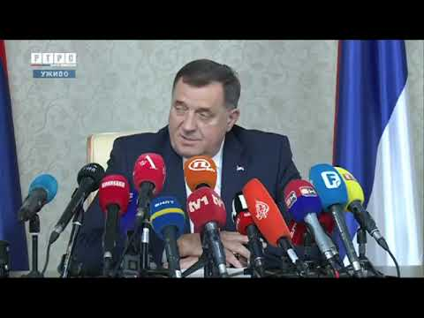 Pres konferencija srpskog lana Predsjednitva BiH Milorada Dodika
