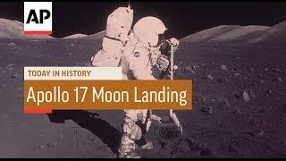 Apollo 17 Moon Landing - 1972 | Today in History | 11 Dec 16