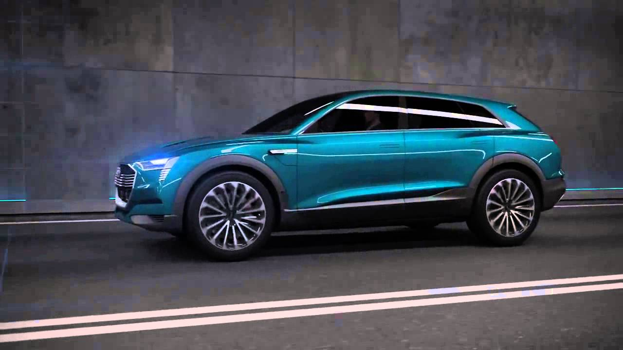 Audi E Tron Suv Quattro Electric Vehicle Concept