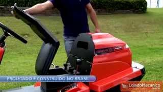Trator Cortador de Grama Dirigível Trotter CD100-2 Tramontina - Loja do Mecânico