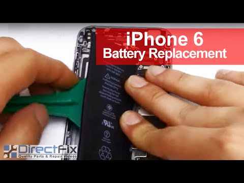 iPhone 6 Battery Replacement shown in 3...