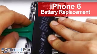 iPhone 6 Battery Replacement shown in 3 Minutes