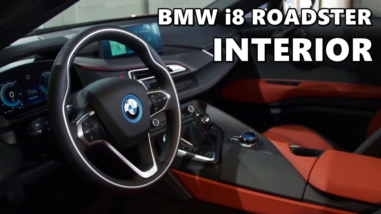2019 Bmw I8 Roadster Interior Highlights Youtube