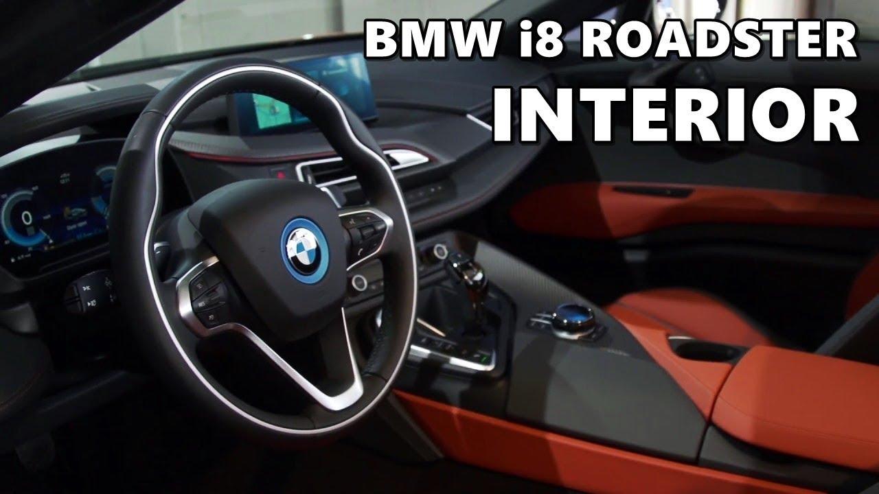 2019 bmw i8 roadster interior highlights youtube. Black Bedroom Furniture Sets. Home Design Ideas
