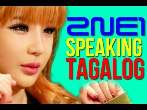 2NE1 Speaking Tagalog