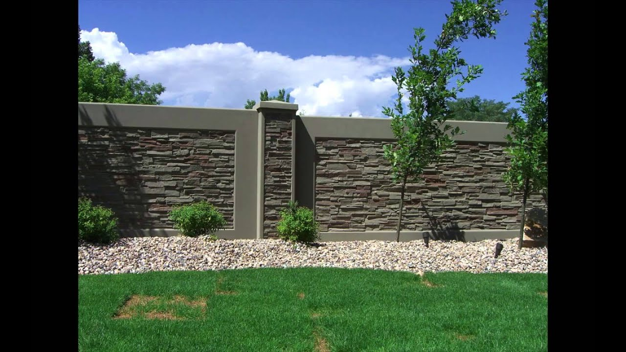Installation Process Of Stonetree 174 Concrete Fence Walls