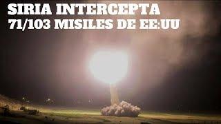 SIRIA INTERCEPTA 71 de 103 MISILES de EE:UU // RUSIA entregará a SIRIA el S-300