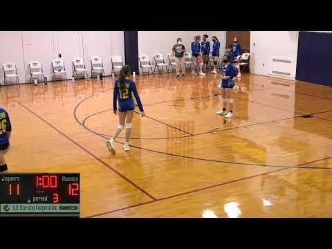 John Deere Middle School @ Jordan Catholic: Girls Volleyball Livestream 02/25/21
