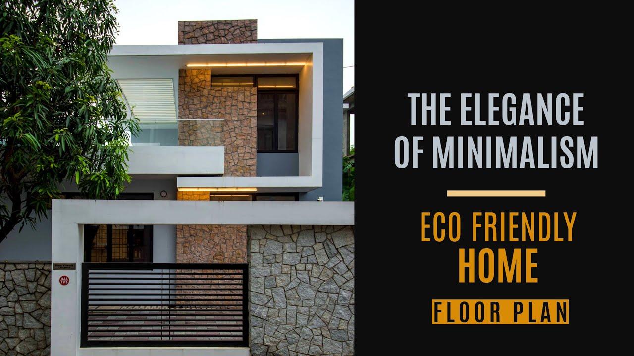 Minimal Home with Amazingly furnished interiors | 2400 SQFT 4 BHK  House Design | JAID Architects