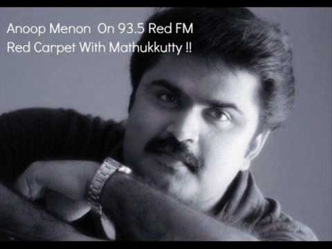 Anoop Menon On 93.5 Red FM Red Carpet With Mathukkutty !!
