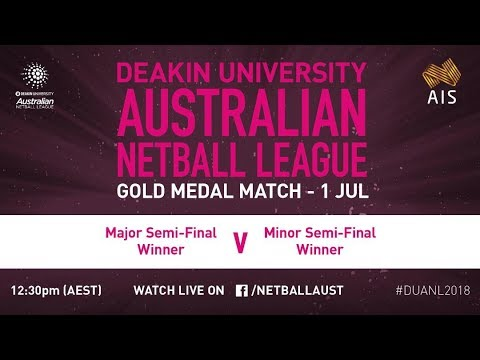 2018 Deakin University Australian Netball League Grand Final - Tasmanian Magpies V Canberra Demons