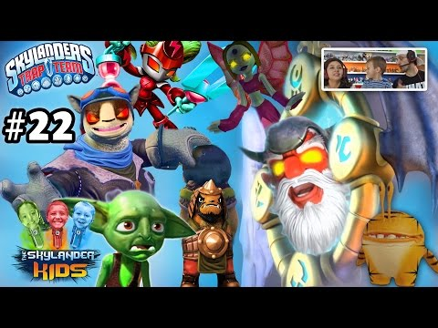 Lets Play Skylanders Trap Team: Chapter 22 - MIRROR OF MYSTERY w/ Chompy & Mab Lobs