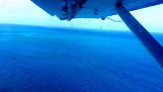 Seaplane video #3 - takeoff leaving Fort Jefferson, Dry Tortugas