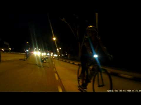 Crash ANZA Cycling West Coast Singapore 3rd May 2017