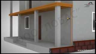 Облицовка и отделка стен дома по технологии вентилируемого фасада(Видео пример облицовки и отделки стен дома по технологии вентилируемого фасада бетонным сайдингом (фасадн..., 2012-03-31T09:42:25.000Z)