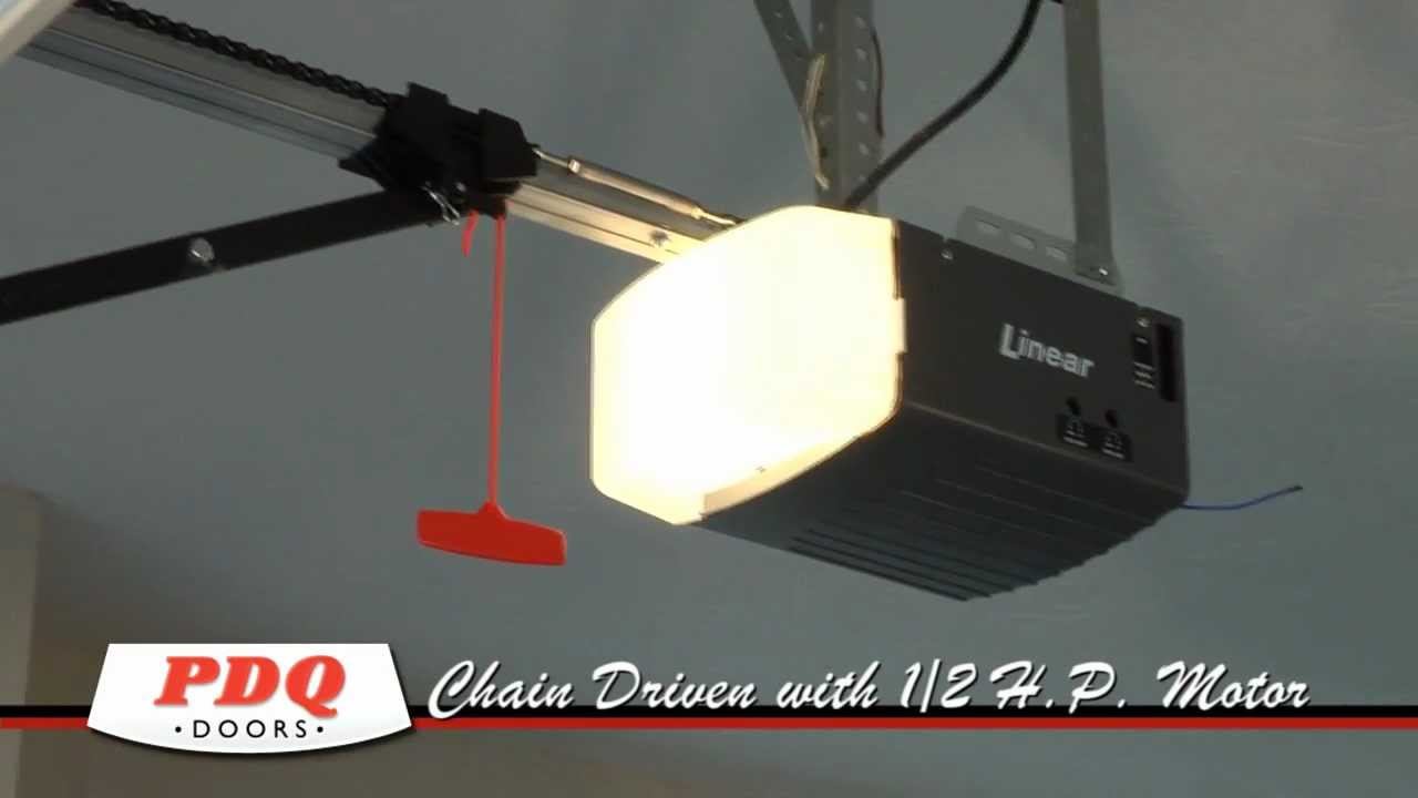 Linear Ldo50 Garage Door Opener Pdq Doors Cincinnati Ohio Youtube
