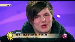 """Robin Stjernberg: """"Livet vändes upp och ner efter Melodifestivalen"""" - Nyhetsmorgon (TV4)"""